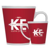 Full Color Latte Mug 12oz-Primary Mark