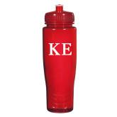 Spectrum Red Sport Bottle 28oz-One Color Greek Letters