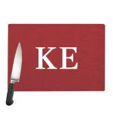 Cutting Board-One Color Greek Letters