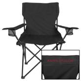 Deluxe Black Captains Chair-KE Kappa Epsilon Stacked