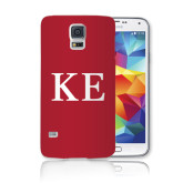 Galaxy S5 Phone Case-One Color Greek Letters