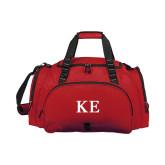 Challenger Team Cardinal Sport Bag-One Color Greek Letters