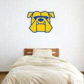 2 ft x 2 ft Fan WallSkinz-Bulldog Head