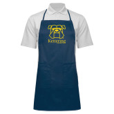 Full Length Navy Apron-Primary Mark