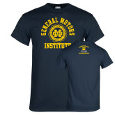 Navy T Shirt-General Motors Institute