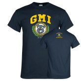 Navy T Shirt-Retro Gmiemi