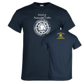 Navy T Shirt-School of Automobile Trades