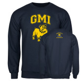 Navy Fleece Crew-GMI