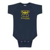 Navy Infant Onesie-Primary Mark