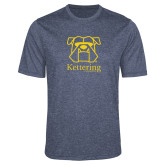 Performance Navy Heather Contender Tee-Primary Mark