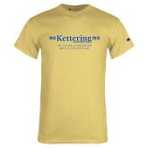 Champion Vegas Gold T Shirt-Century Logo