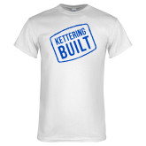 White T Shirt-Kettering Built