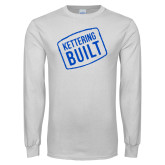 White Long Sleeve T Shirt-Kettering Built