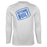 Performance White Longsleeve Shirt-Kettering Built