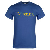 Royal T Shirt-Kettering University Word Mark