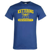 Royal T Shirt-Arched Kettering University in Bar
