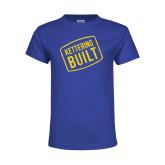 Youth Royal T Shirt-Kettering Built