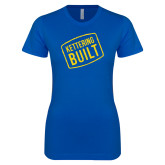 Next Level Ladies SoftStyle Junior Fitted Royal Tee-Kettering Built
