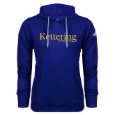 Adidas Climawarm Royal Team Issue Hoodie-Kettering University Word Mark