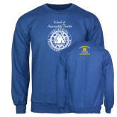 Royal Fleece Crew-School of Automobile Trades