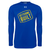 Under Armour Royal Long Sleeve Tech Tee-Kettering Built