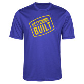 Performance Royal Heather Contender Tee-Kettering Built