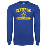 Royal Long Sleeve T Shirt-Arched Kettering University in Bar