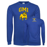 Royal Long Sleeve T Shirt-GMI