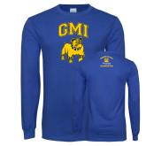 Royal Long Sleeve T Shirt-GMI