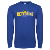 Royal Long Sleeve T Shirt-Arched Est Date