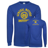 Royal Long Sleeve T Shirt-General Motors Institute