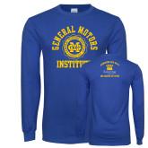 Royal Long Sleeve T Shirt-General Motors Institute