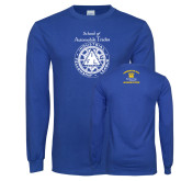 Royal Long Sleeve T Shirt-School of Automobile Trades