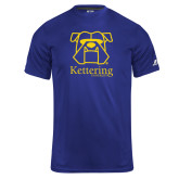 Russell Core Performance Royal Tee-Primary Mark
