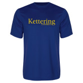 Performance Royal Tee-Kettering University Word Mark