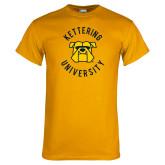 Gold T Shirt-Circle