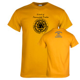 Gold T Shirt-School of Automobile Trades