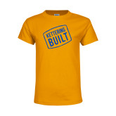 Youth Gold T Shirt-Kettering Built