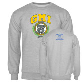 Grey Fleece Crew-Retro Gmiemi