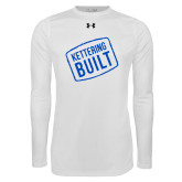 Under Armour White Long Sleeve Tech Tee-Kettering Built