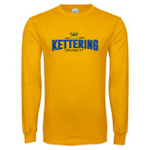 Gold Long Sleeve T Shirt-Arched Est Date