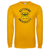 Gold Long Sleeve T Shirt-Circle