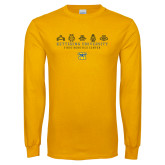 Gold Long Sleeve T Shirt-First Robotics Center