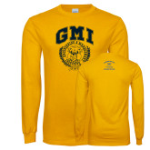 Gold Long Sleeve T Shirt-Retro Gmiemi