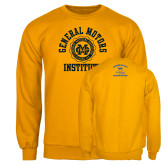 Gold Fleece Crew-General Motors Institute