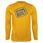 Performance Gold Longsleeve Shirt-Kettering Built