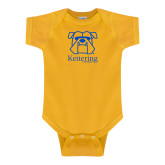 Gold Infant Onesie-Primary Mark