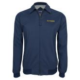 Navy Players Jacket-Kettering University Word Mark
