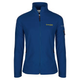 Columbia Ladies Full Zip Royal Fleece Jacket-Kettering University Word Mark