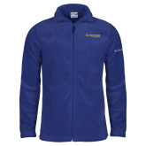 Columbia Full Zip Royal Fleece Jacket-Kettering University Word Mark
